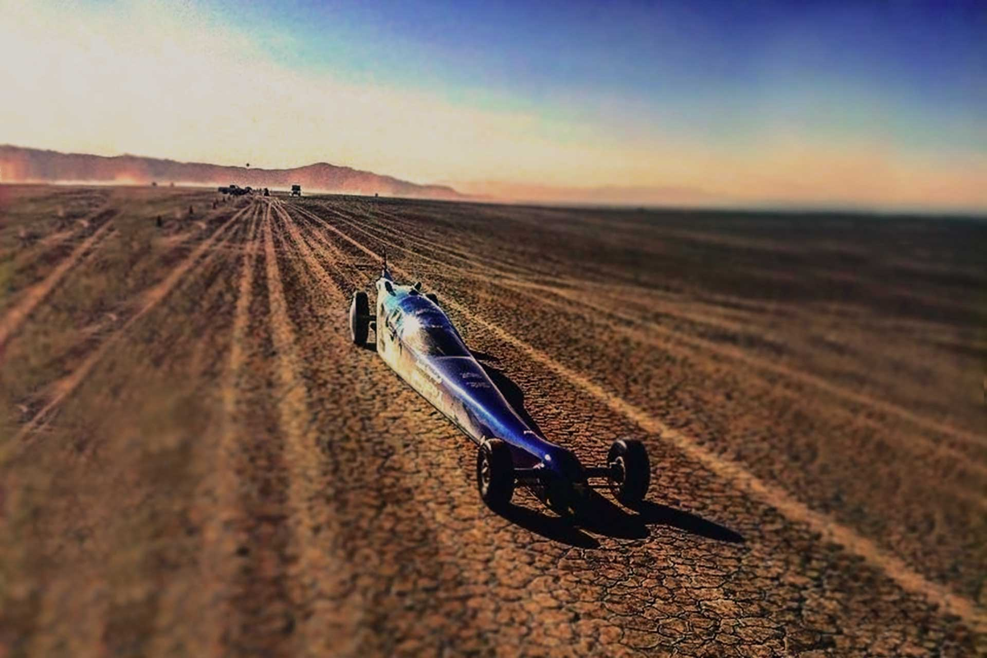 land speed car record